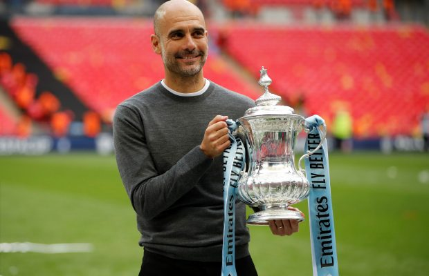 Guardiola compares winning domestic treble to Champions League victory
