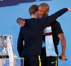 Kompany hails Manchester City