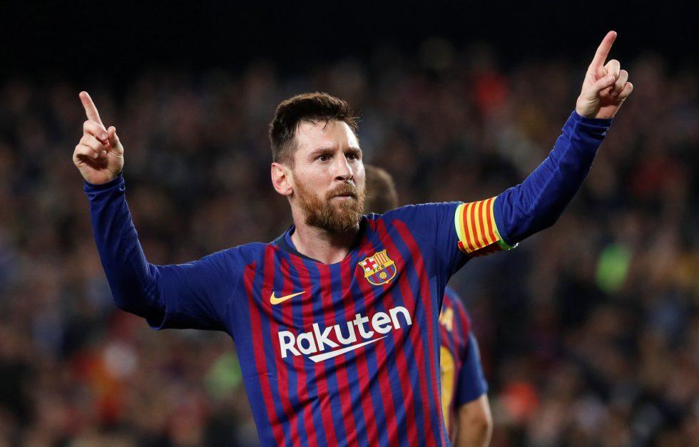 Champions League top scorer Messi 2019