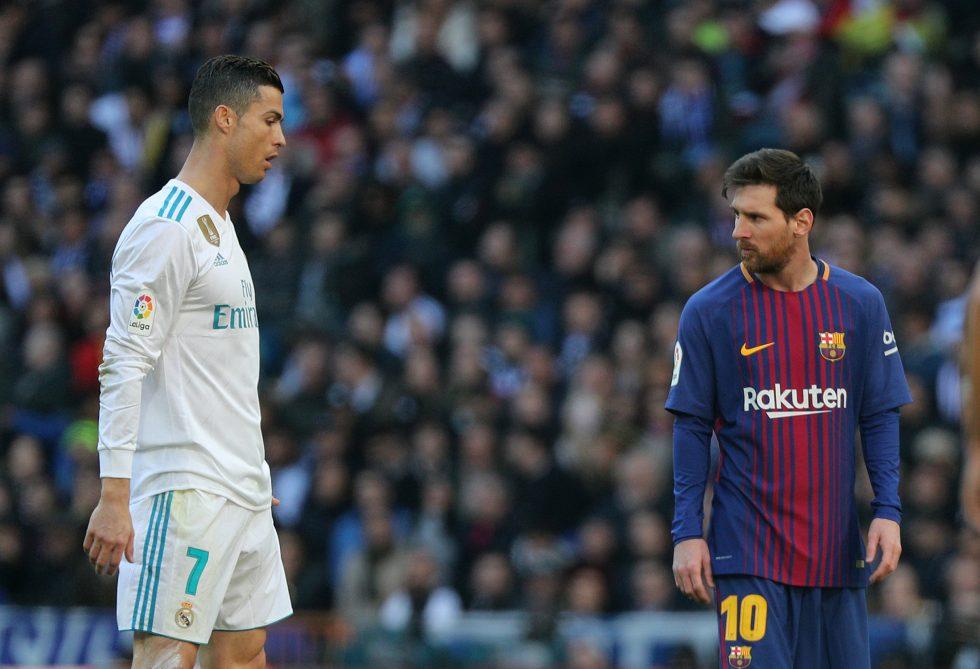 Champions League top scorers Messi vs Ronaldo