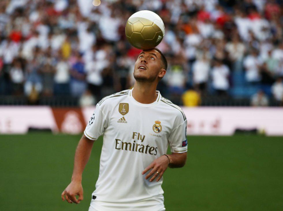 Eden Hazard promises to deliver big at Real Madrid