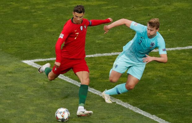 Matthijs De Ligt Laughed Off Ronaldo's Juventus Offer