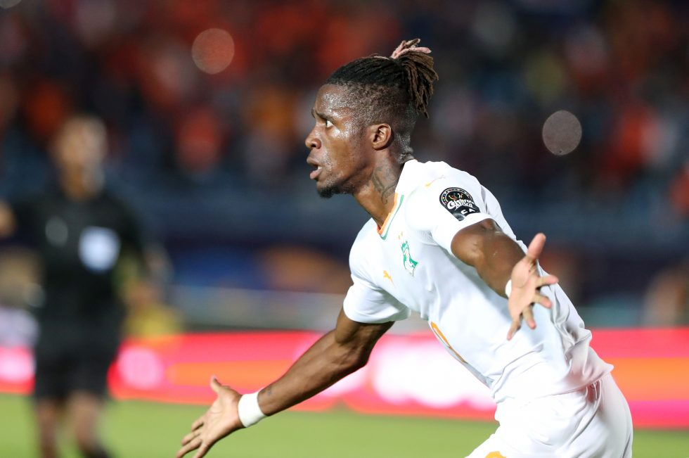 Crystal Palace Boss Provides Update On Wilfried Zaha To Arsenal Transfer