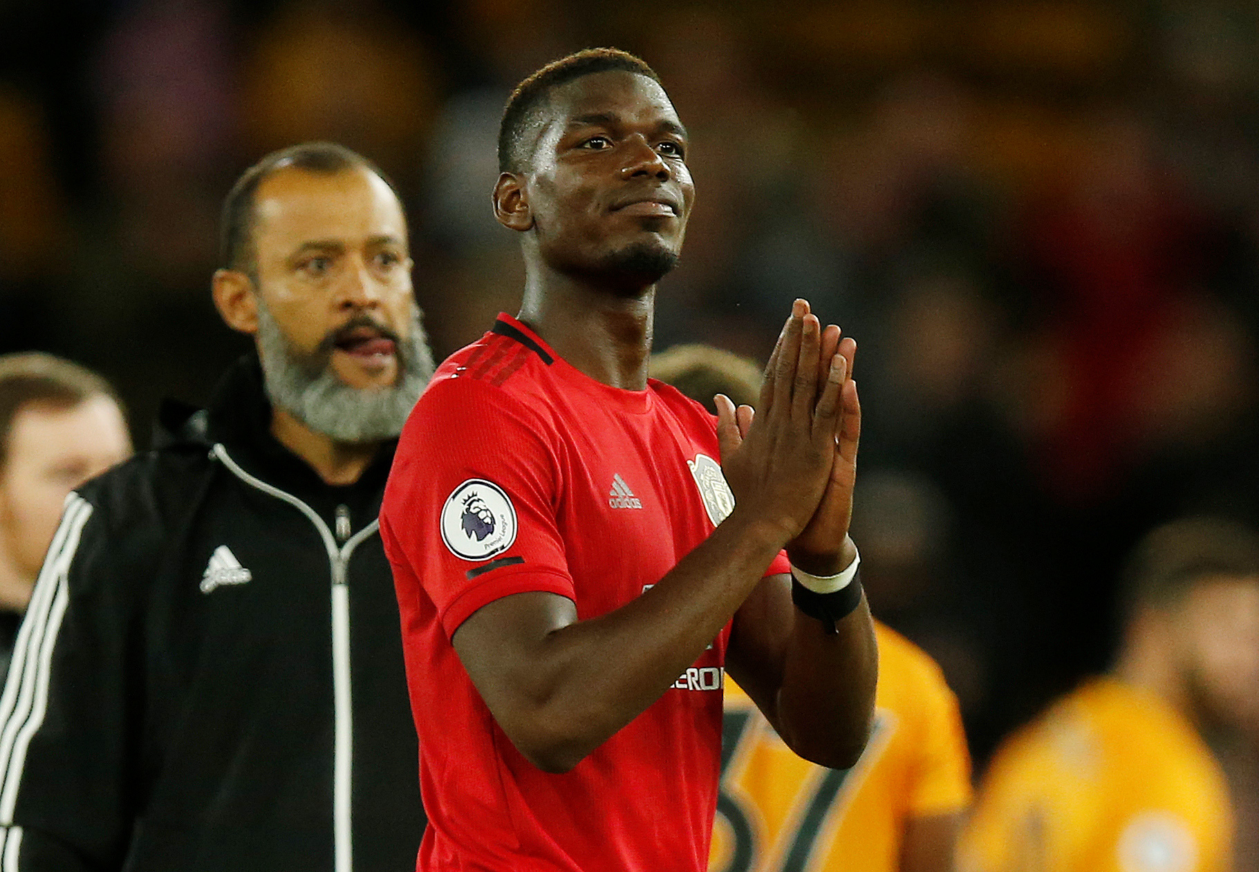 What Pogba did after missing the penalty against Wolves