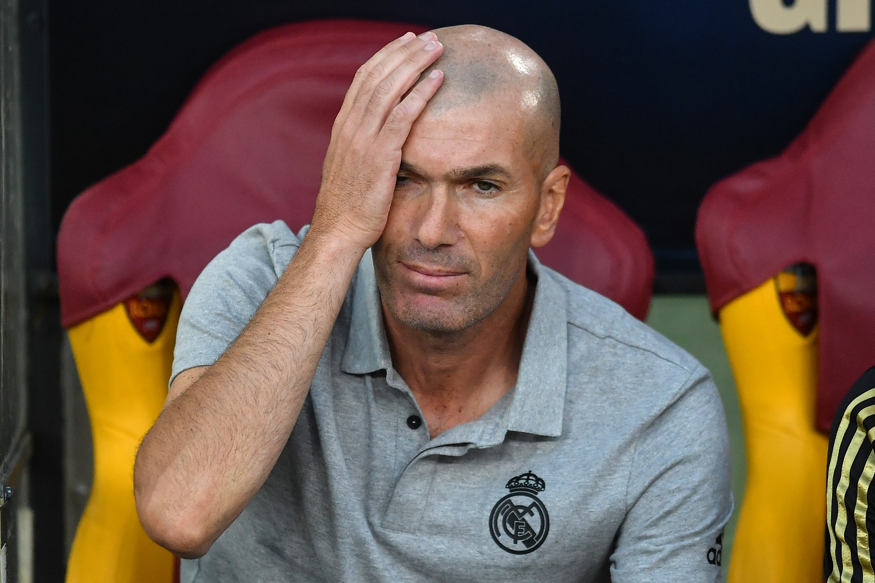 "Zidane cries foul after not being declared ""King of the World"""