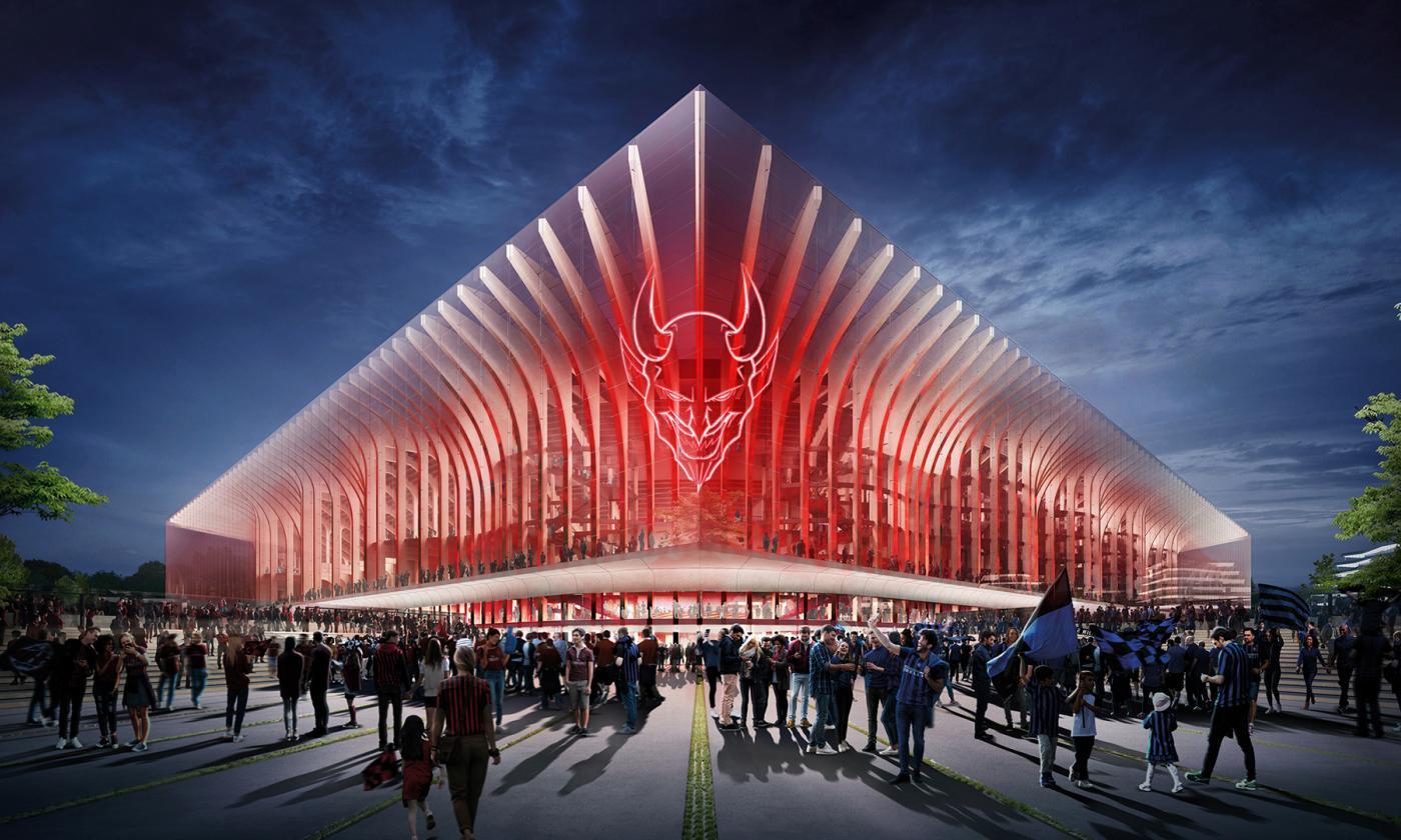 AC Milan & Inter Milan reveal new stadium concepts