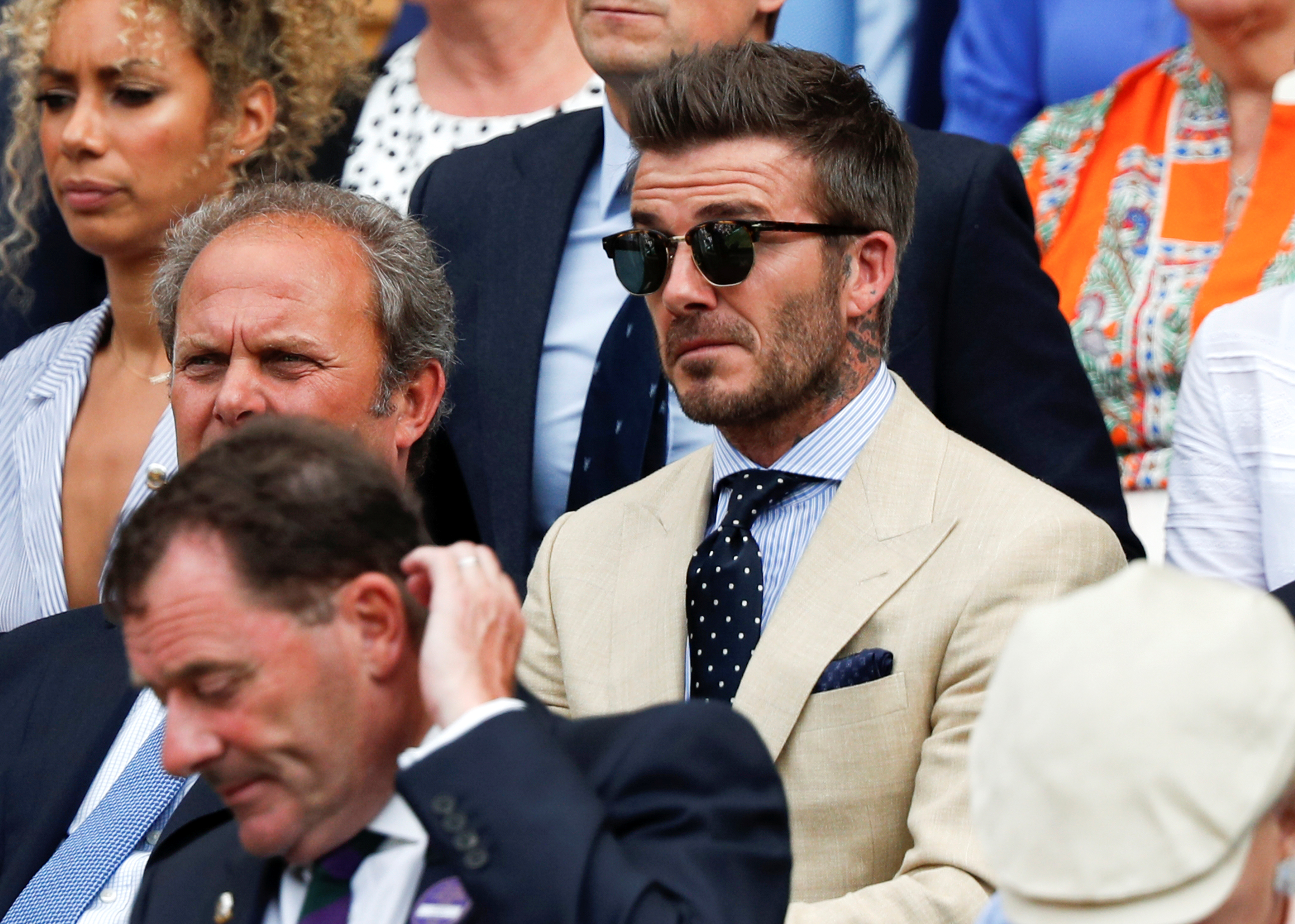 Beckham reveals England dream