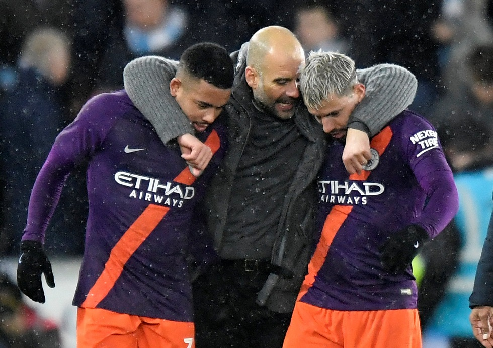 Keeping Both Aguero And Jesus Happy Is 'Impossible' - Pep Guardiola