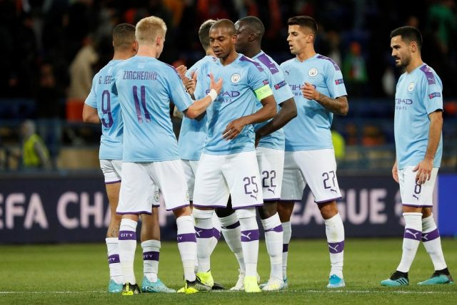 Manchester City Squad 2020