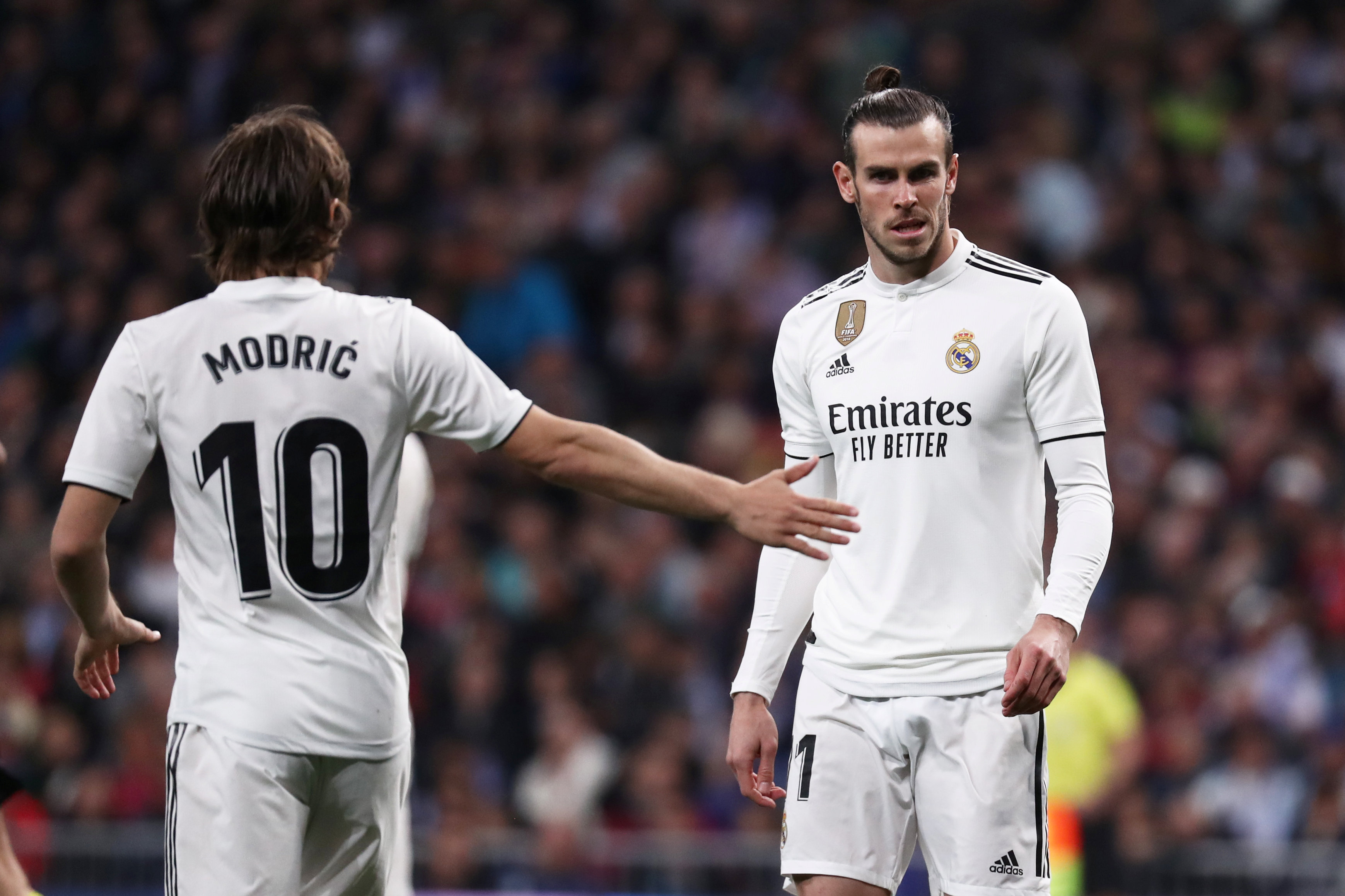 Bale want to get one over Modric
