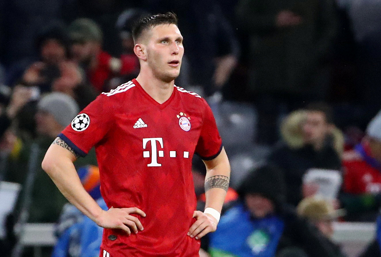 Bayern Munich defender Niklas Sule set for surgery after tearing ACL