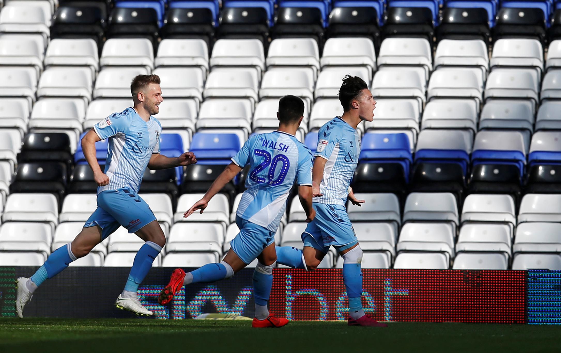 Coventry City Salaries 2020