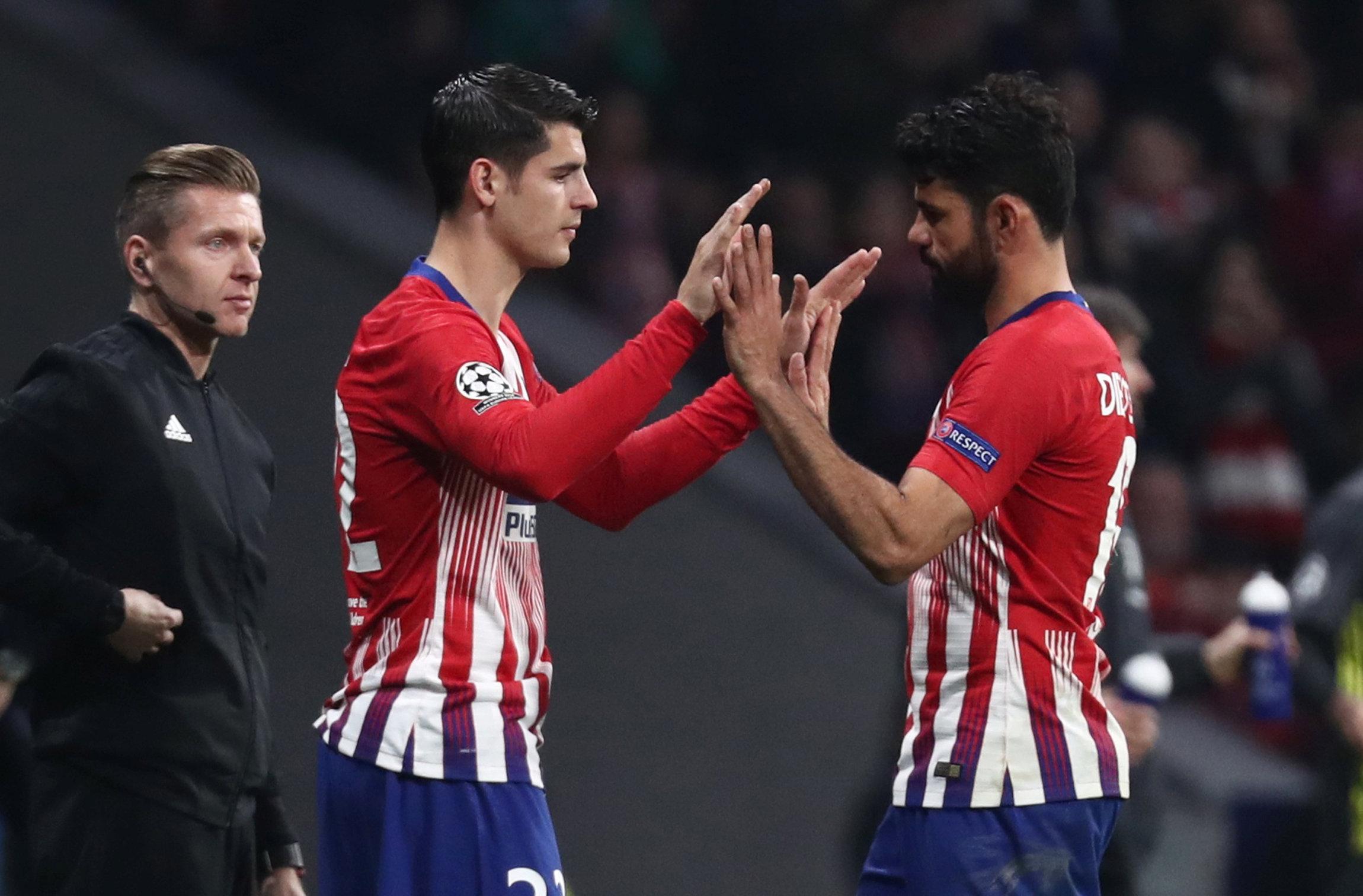 Diego Simeone praises goal-shy Atletico Madrid duo Diego Costa & Alvaro Morata