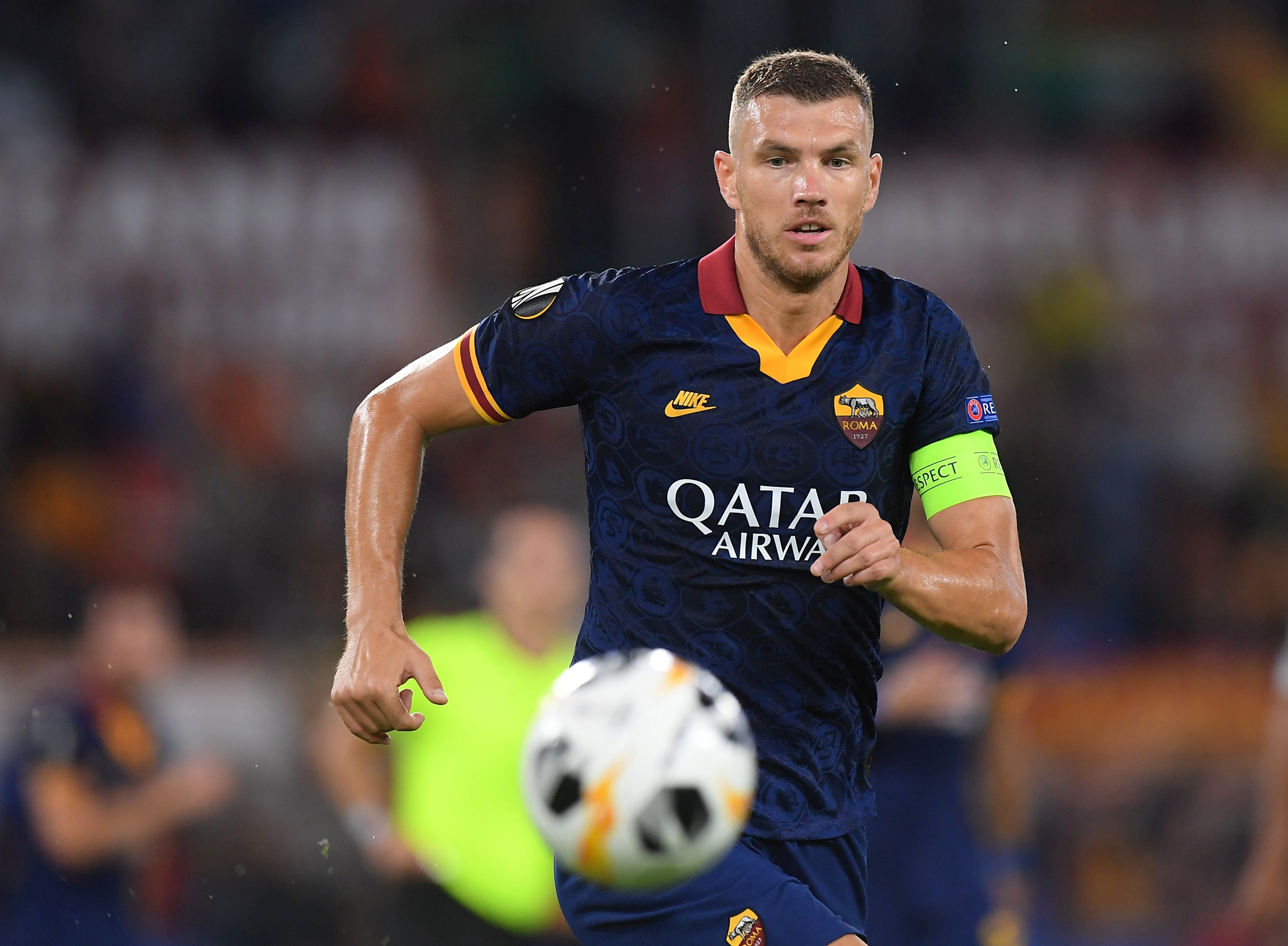 Edin Dzeko & Amadou Diawara add to Serie A side Roma injury woes