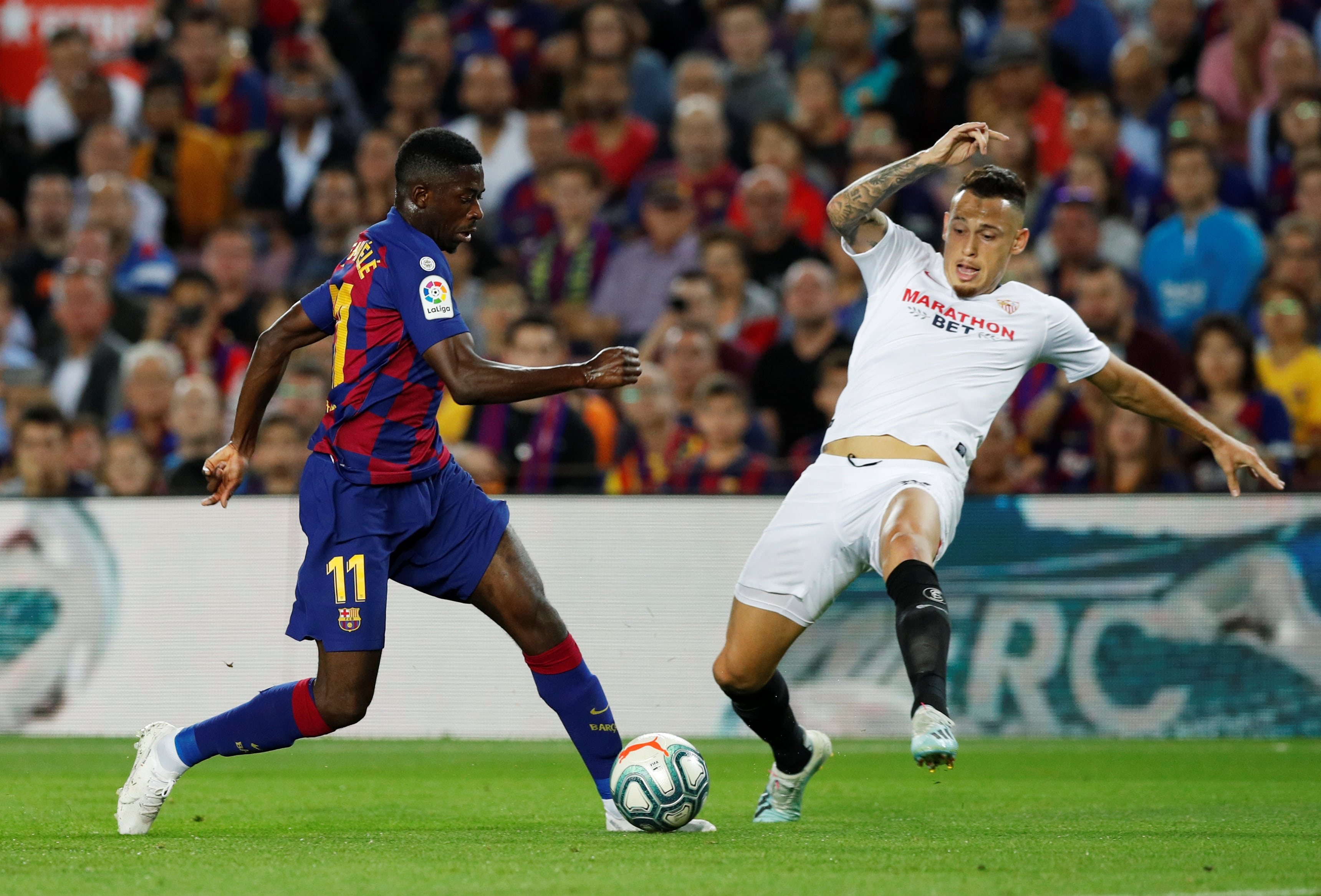 Five things we learned from Barcelona clash with Sevilla