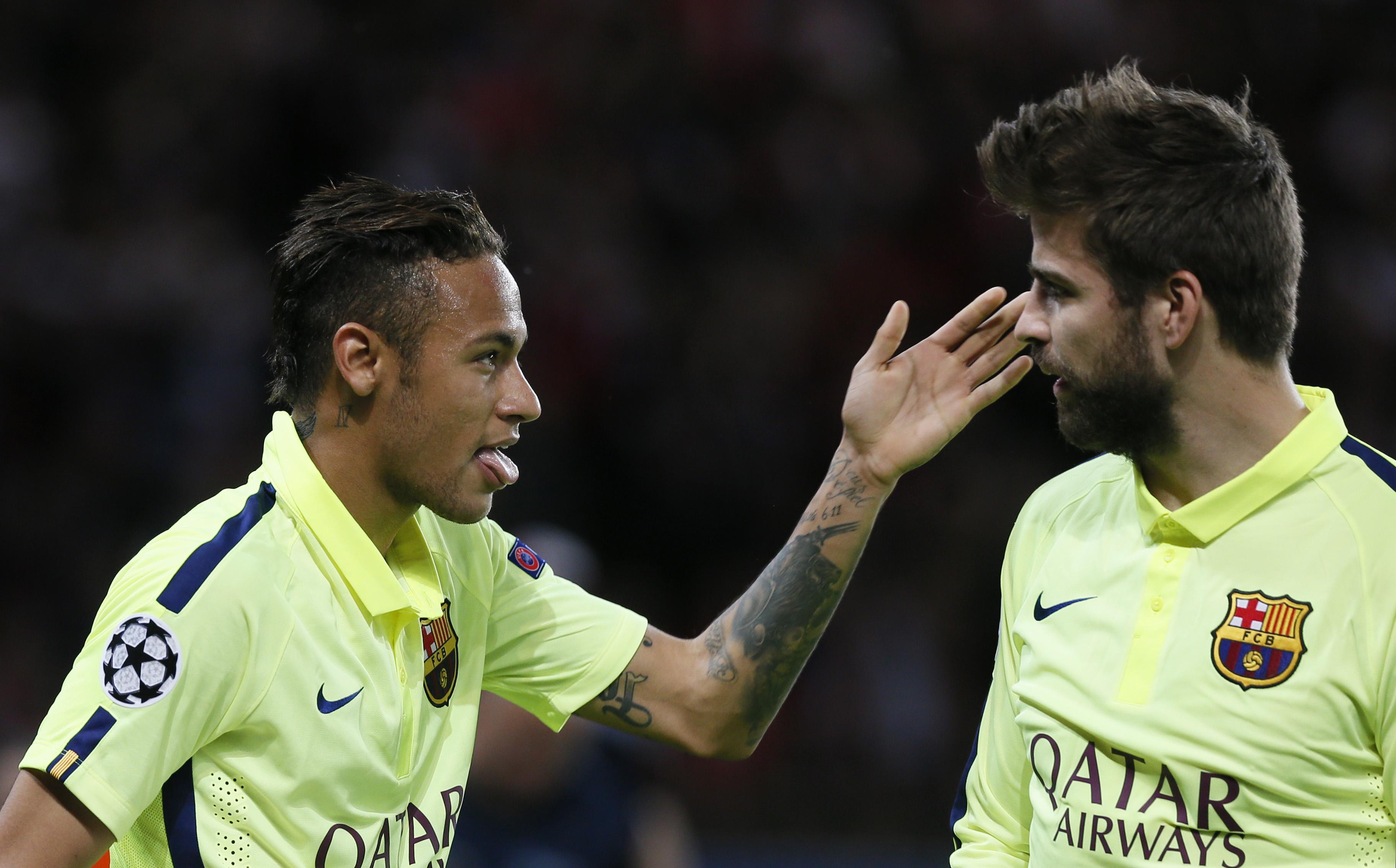 Former teammate Gerard Pique lifts lid on Neymar return talks with Barcelona