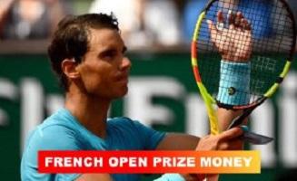 French Open Prize Money 2020 (Roland Garros)