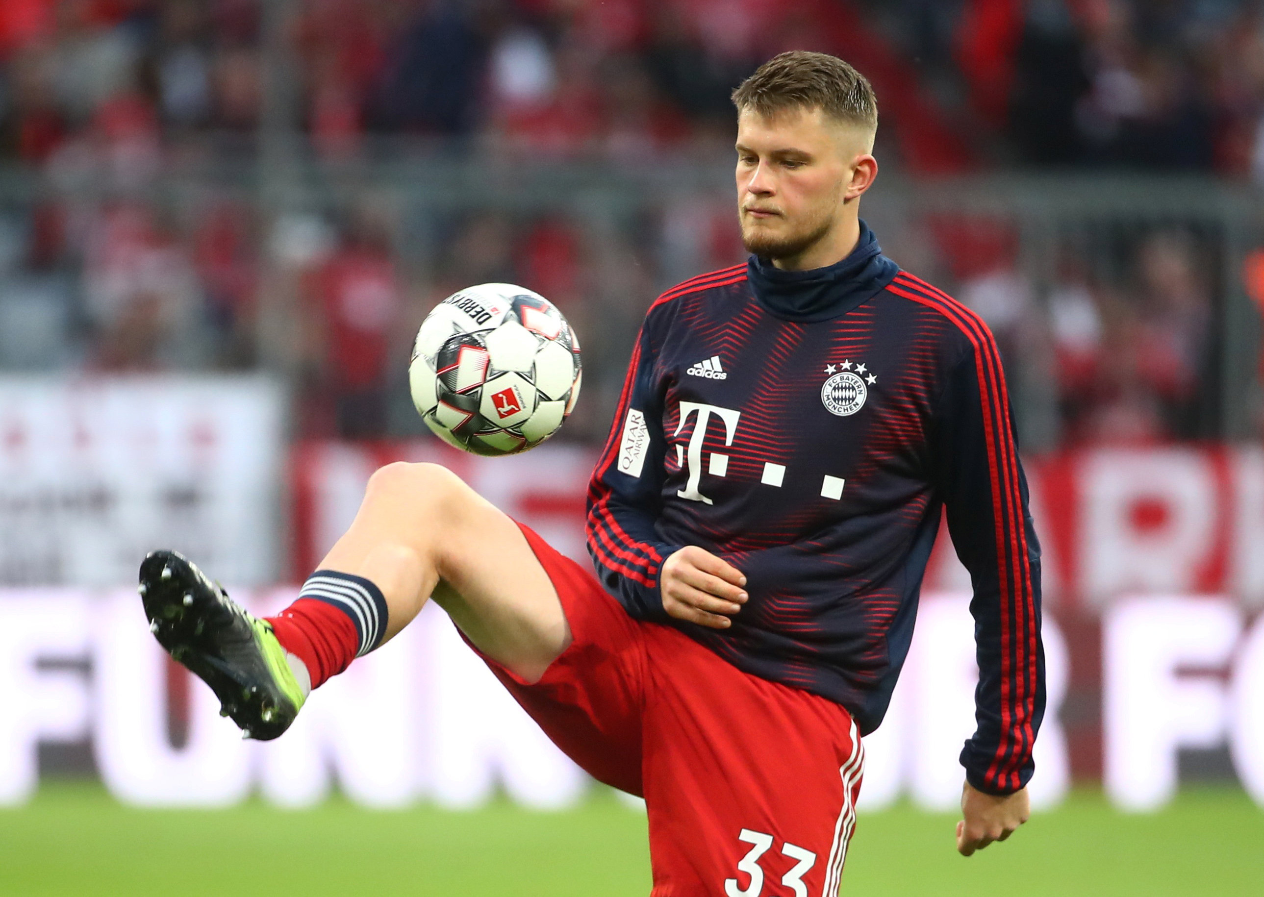 OFFICIAL Highly-rated defender Lars Lukas Mai renews Bayern Munich contract