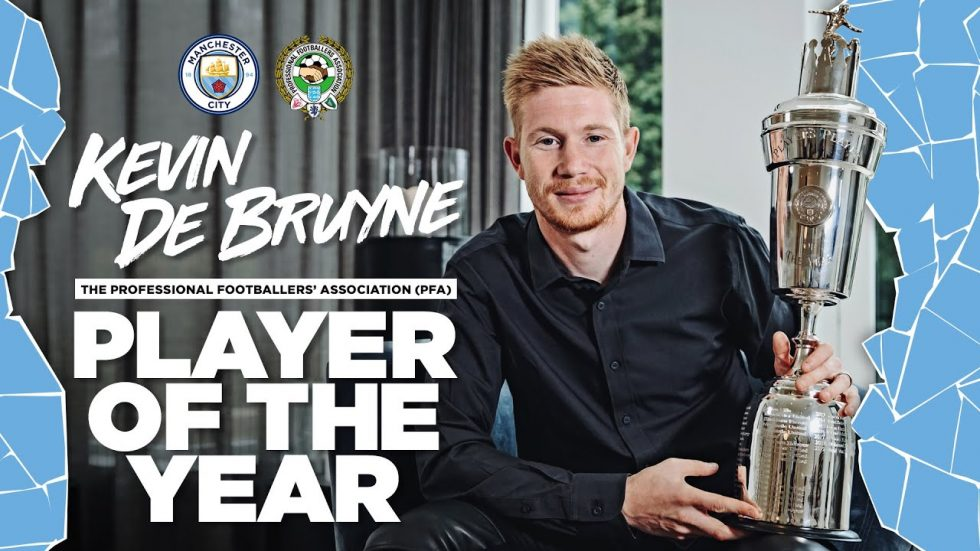 Kevin De Bruyne PFA player of the year 2020