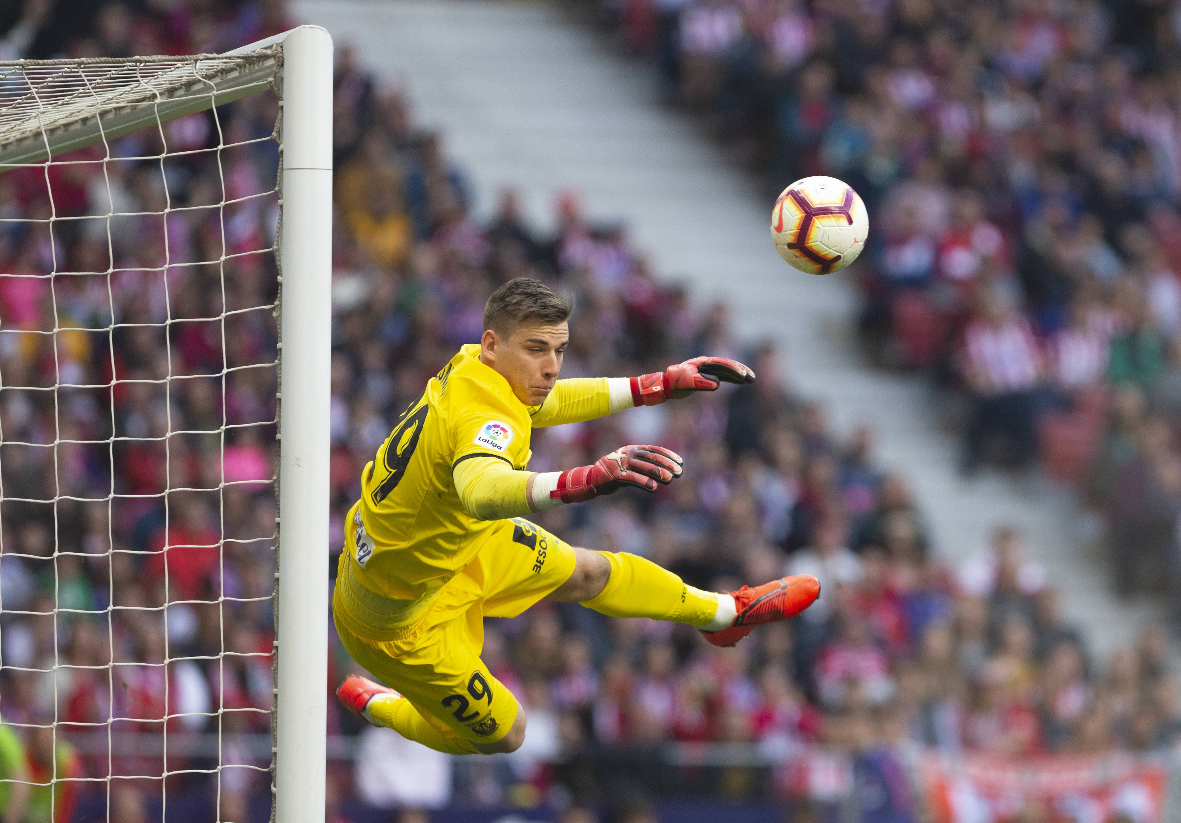 Lunin reveals his take on Navas' Madrid departure