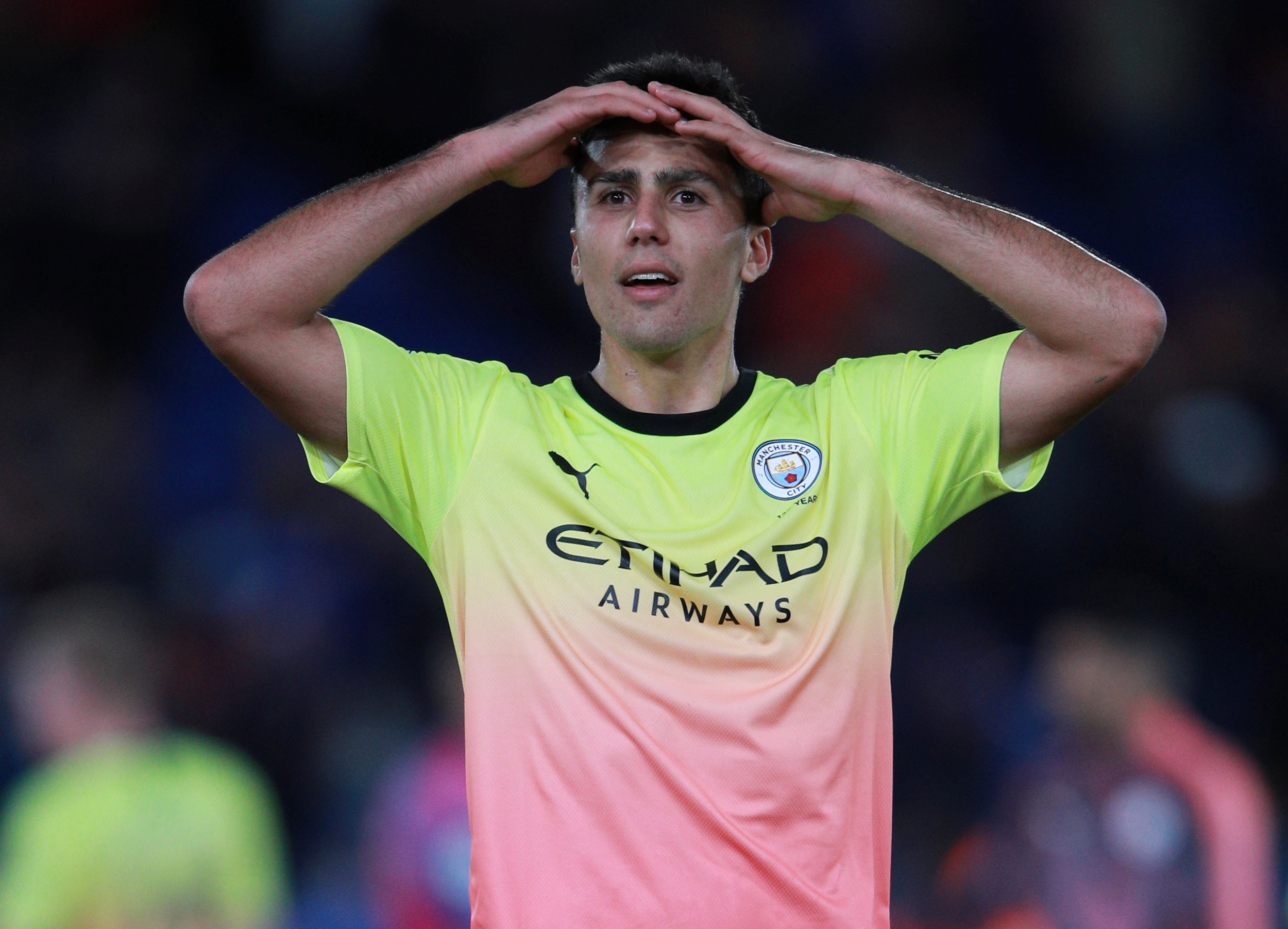 Manchester City lose duo Oleksandr Zinchenko and Rodri to injuries