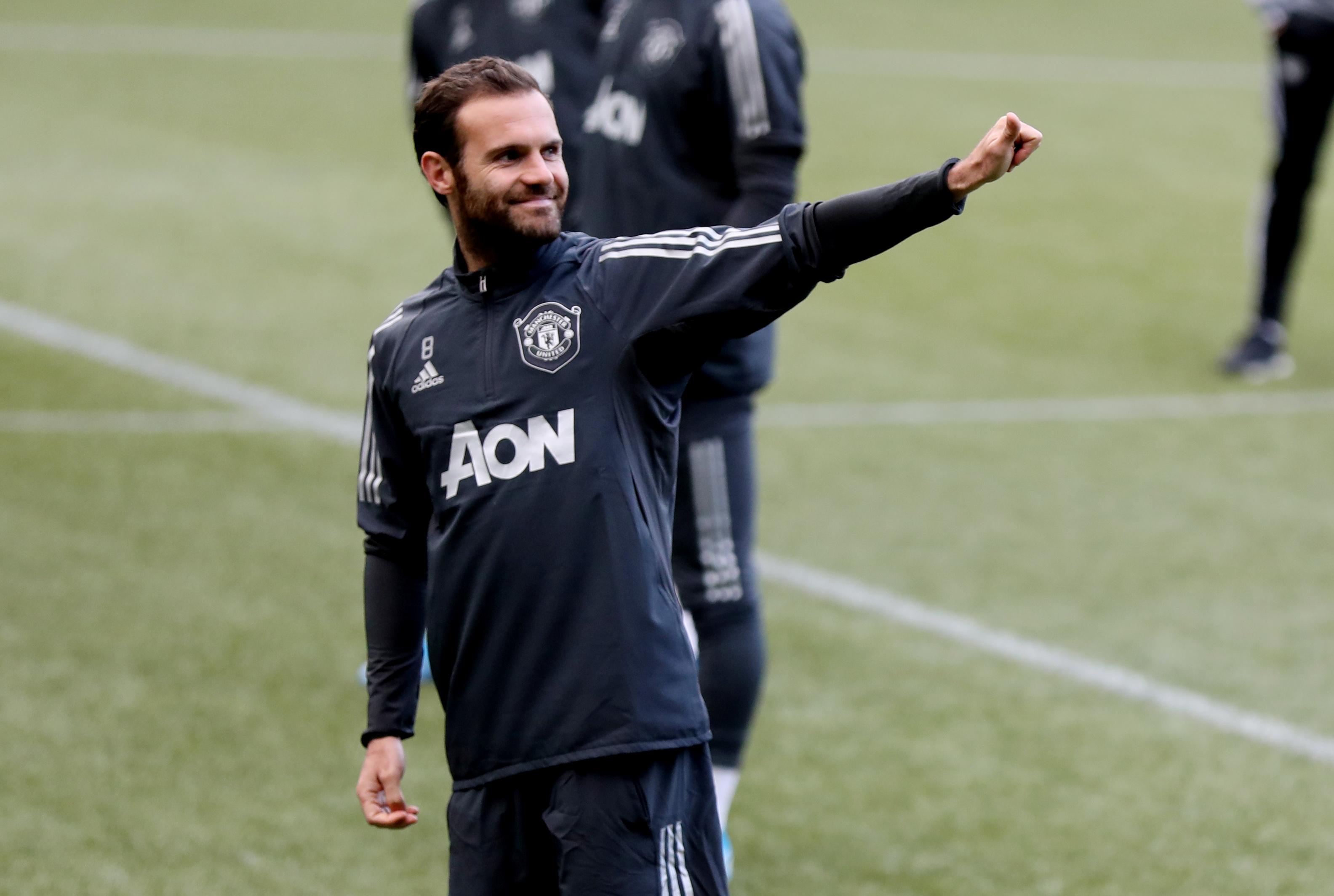 Mata's United admission