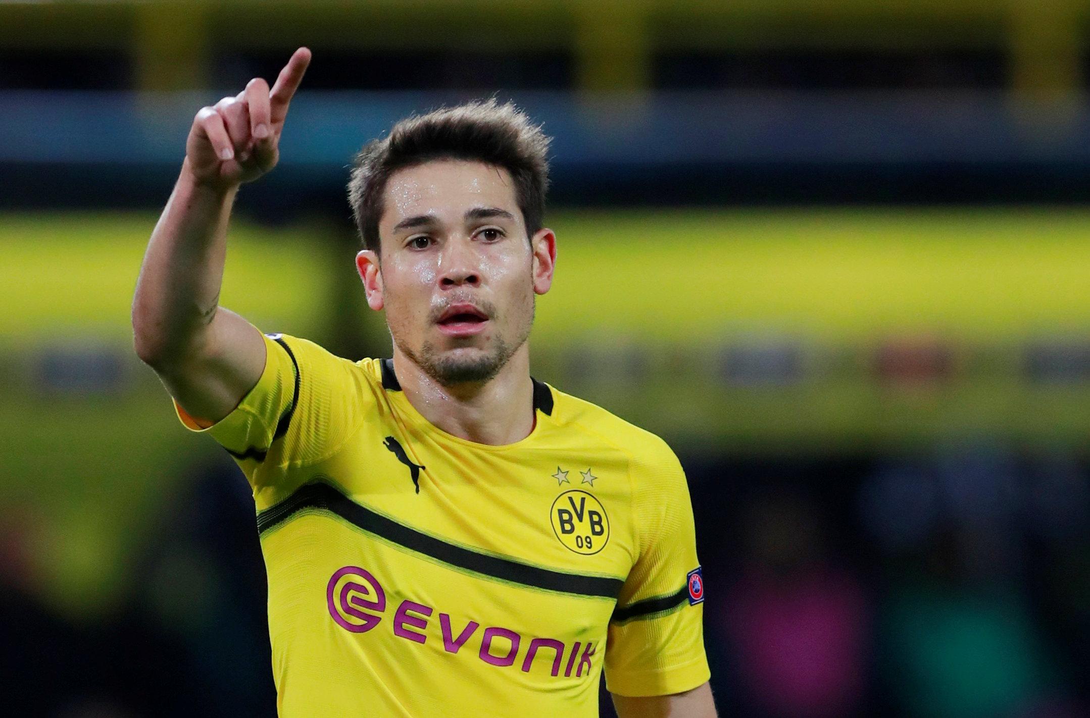 Raphael Guerreiro sign new long-term Borussia Dortmund deal