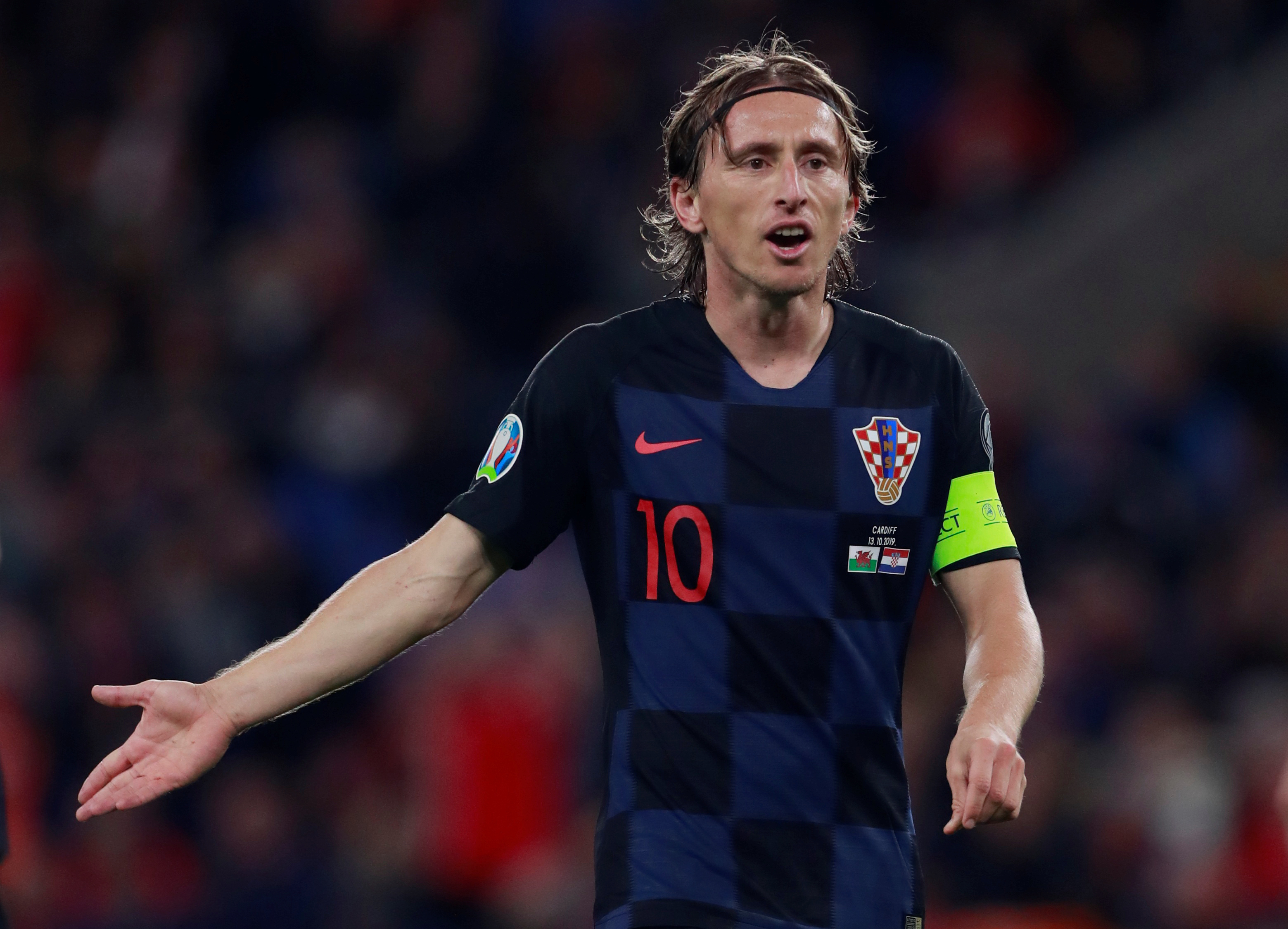 Real Madrid confirm Luka Modric sidelined with muscle injury