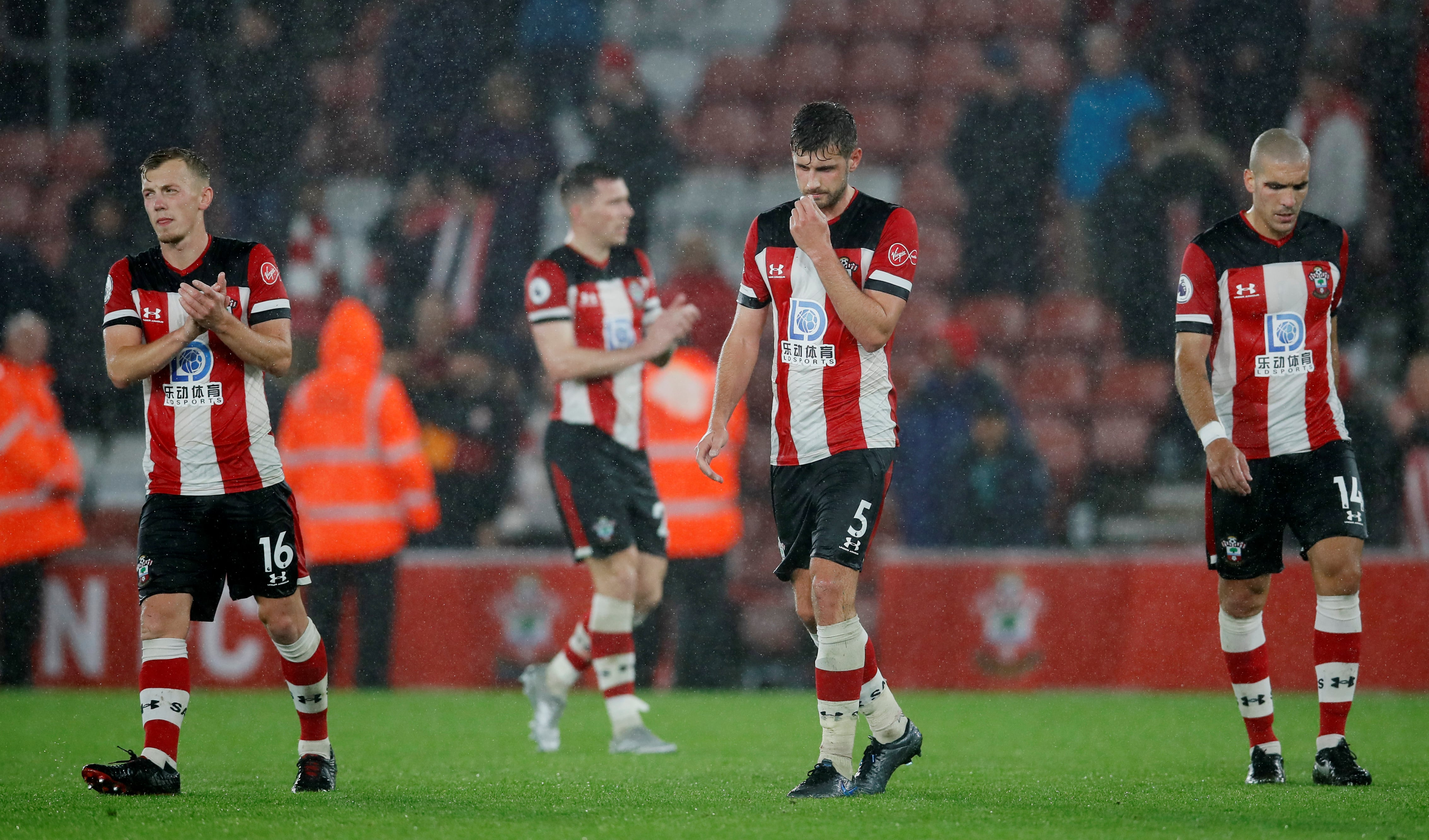 Southampton players donate wages to charity after Leicester humiliation