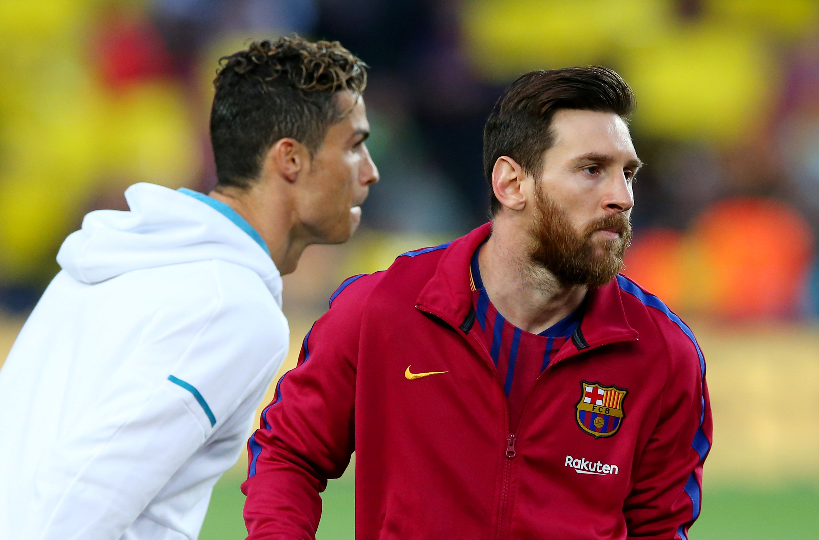 What does CR7 think of the Ronaldo-Messi rivalry