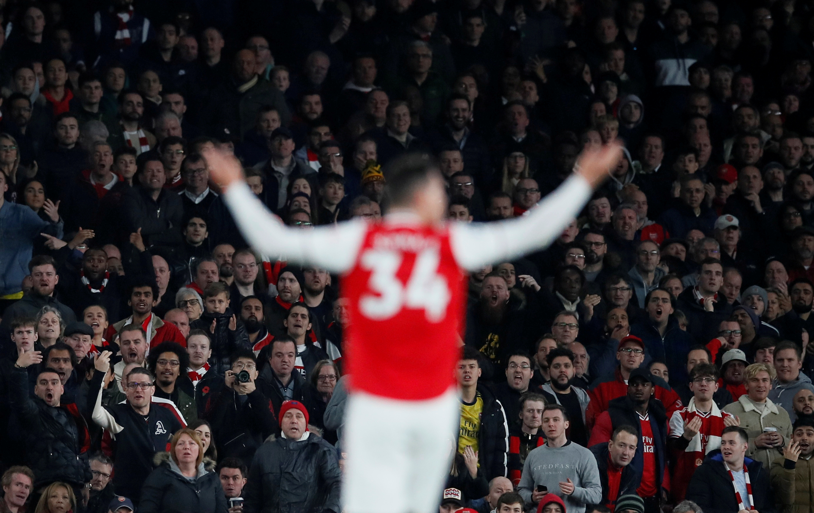 Xhaka was wrong: Emery