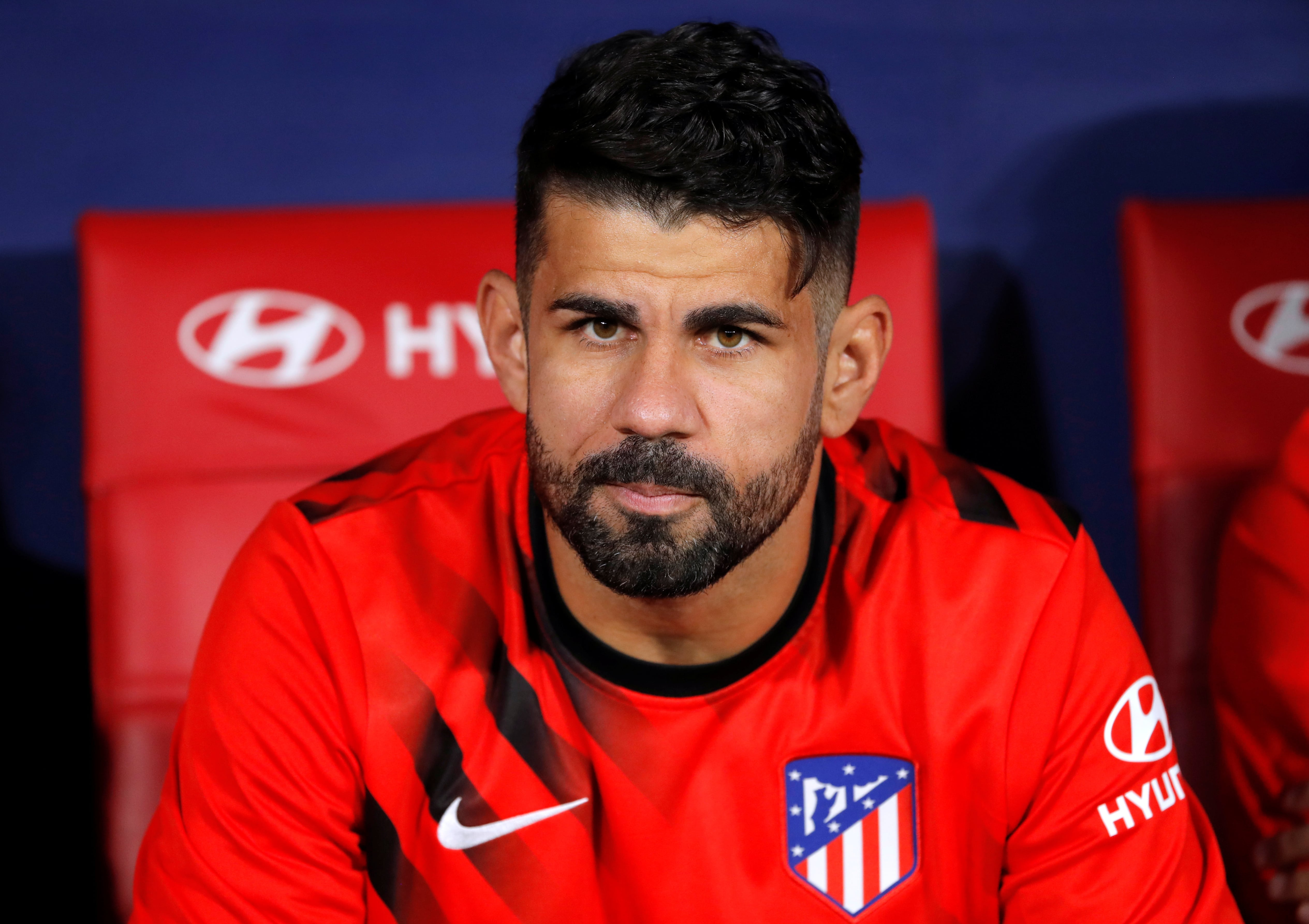 Atletico Madrid ace Diego Costa ruled out for three months due to neck injury