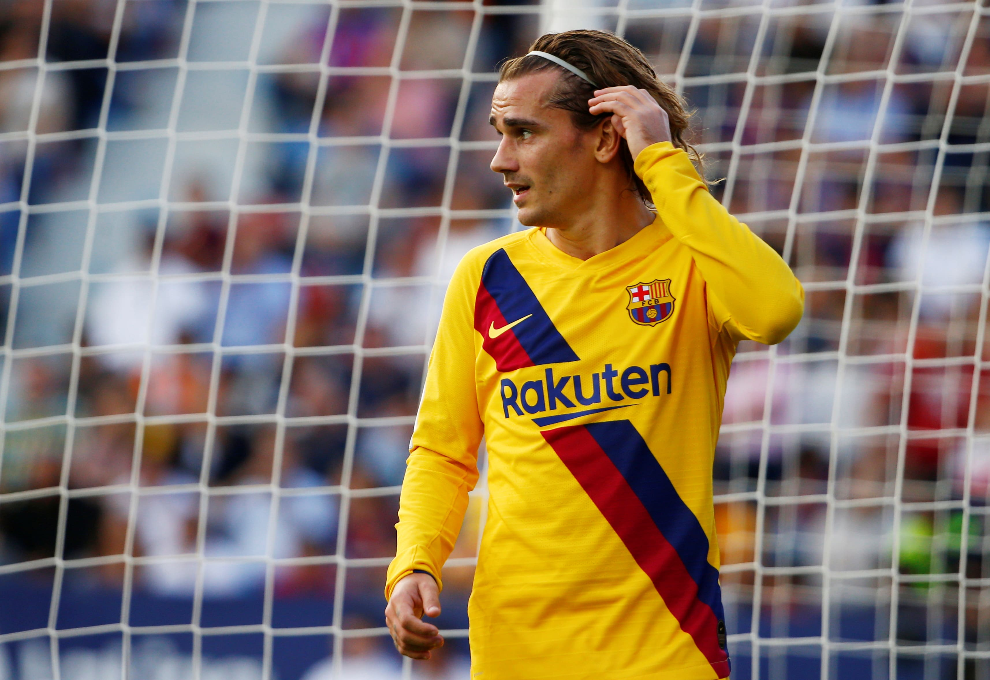 Barcelona's Antoine Griezmann accounts attitude issues for loss to Levante