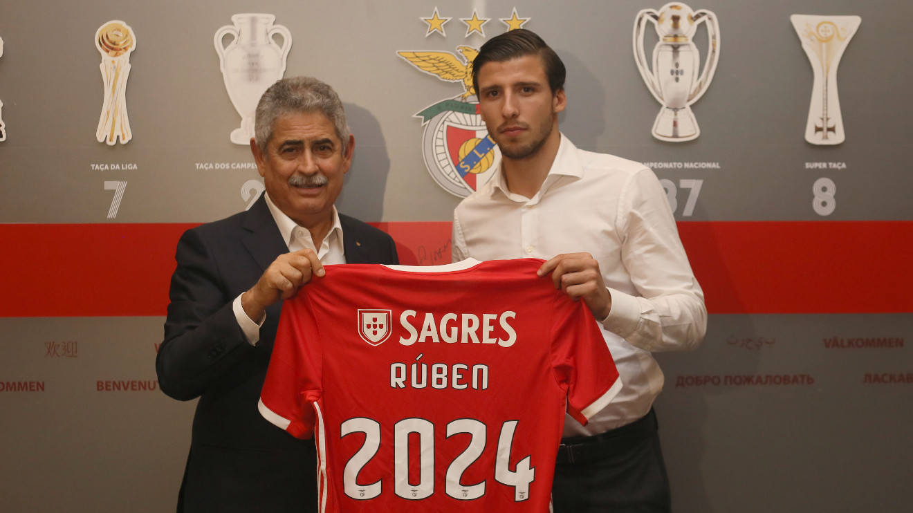 Benfica talent Ruben Dias signs new contract with improved release clause