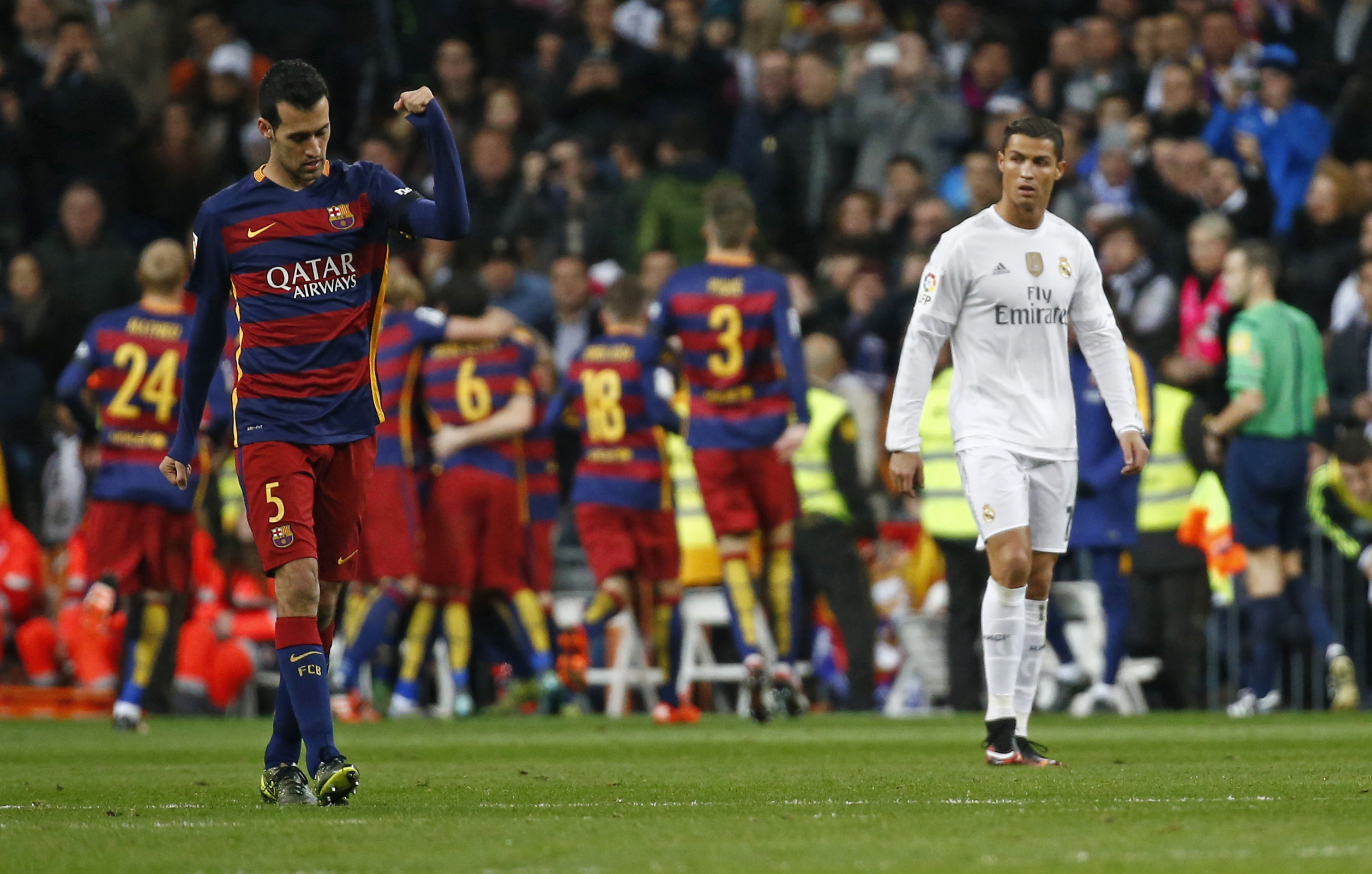 Cristiano Saves the day top 10 el classicos
