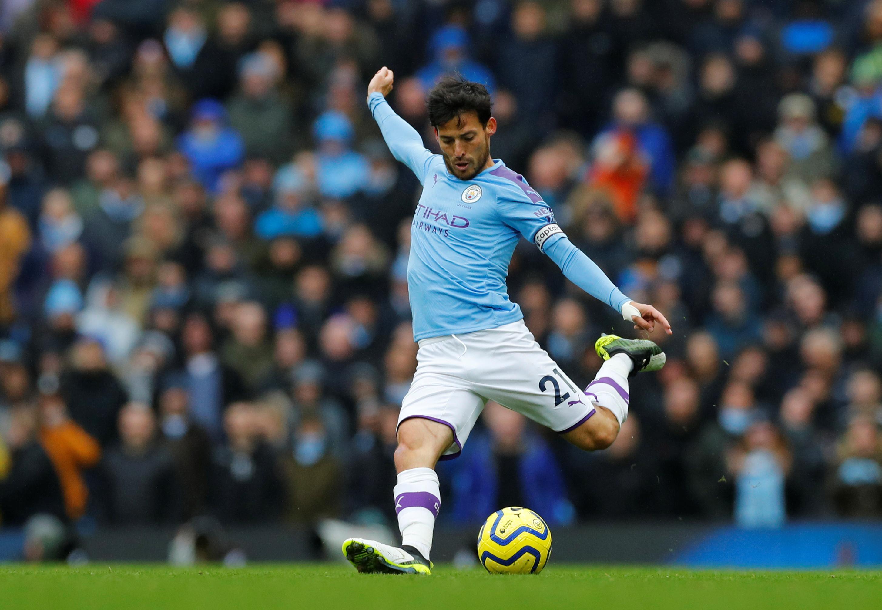 David Silva calm about Premier League title race