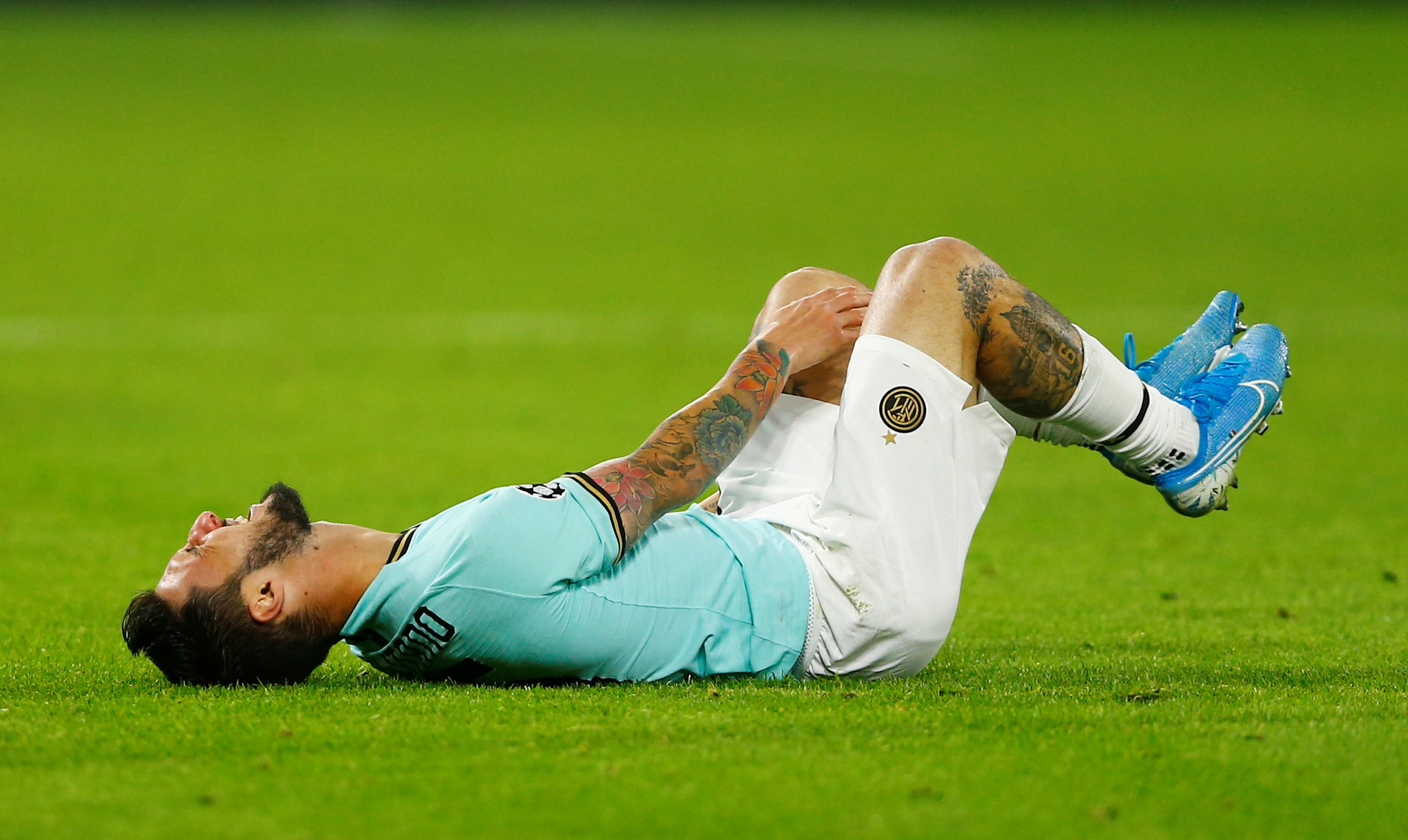 Inter Milan winger Matteo Politano to miss a month with ankle injury