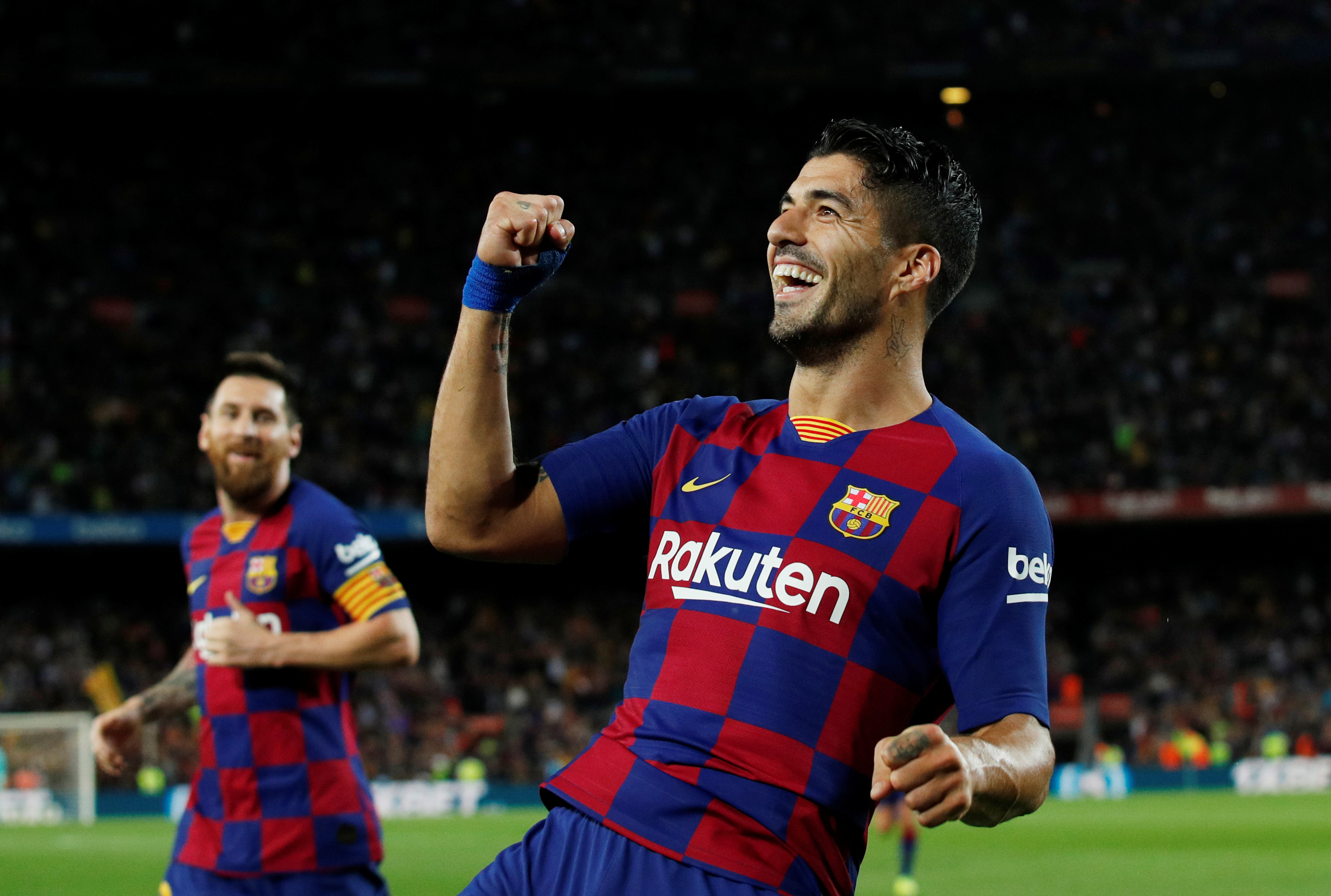 Luis Suarez enjoys the packed Christmas schedule