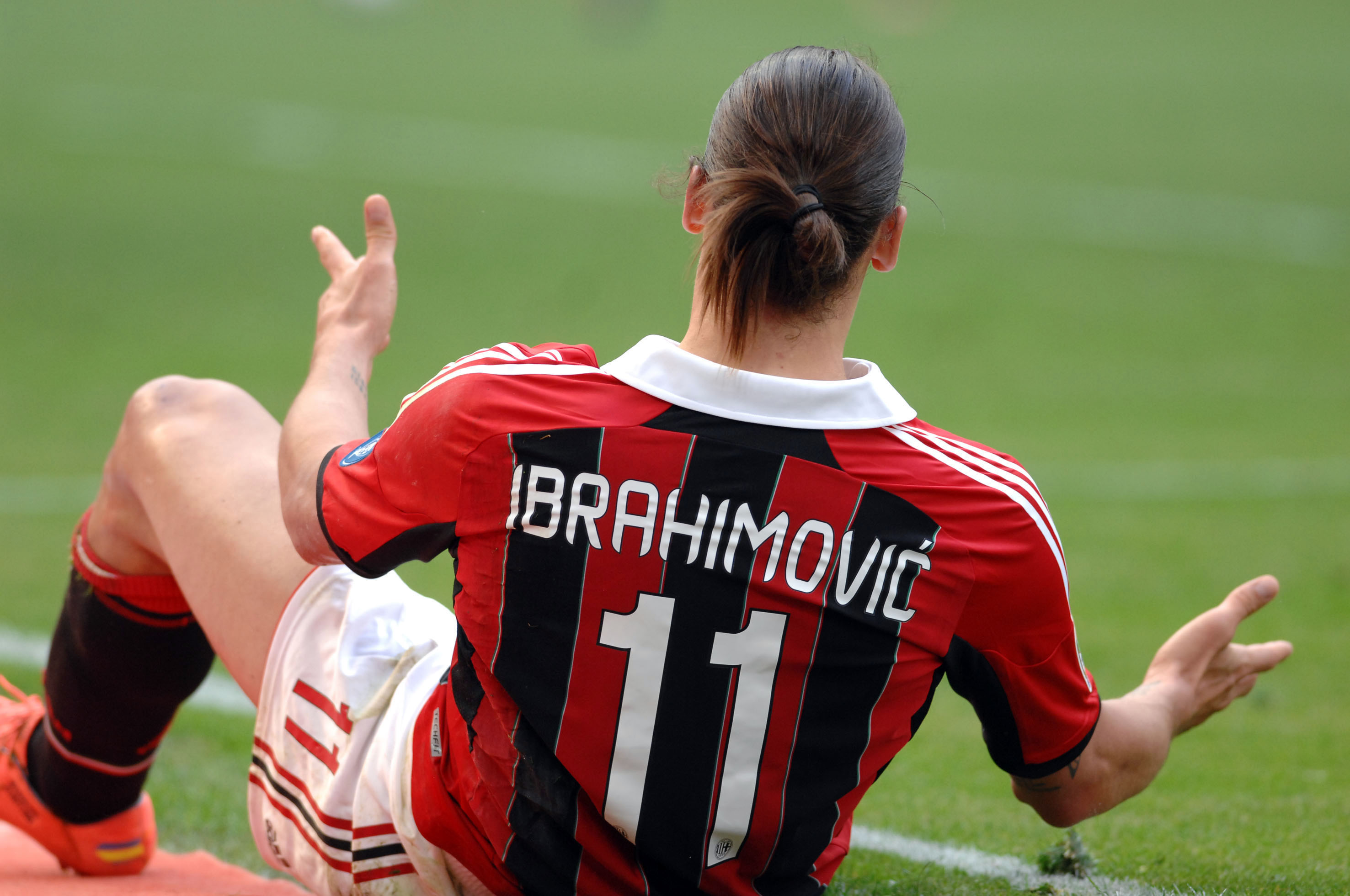 MLS commissioner Garber claims Zlatan Ibrahimovic is being recruited by AC Milan
