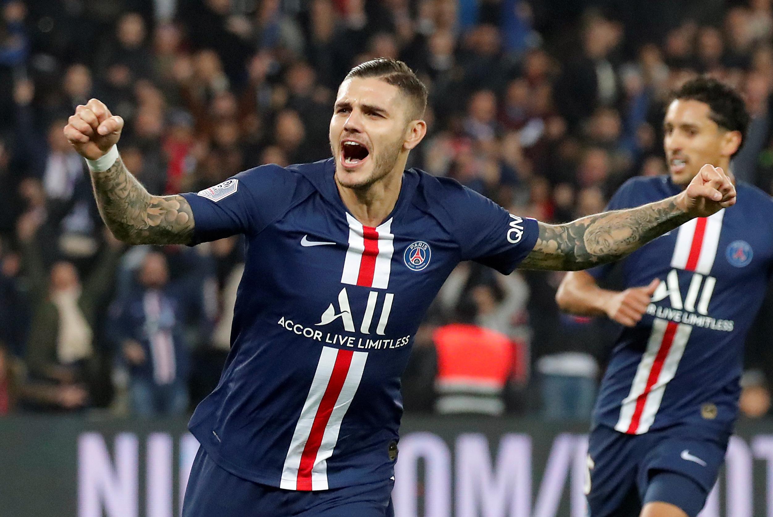 Paris Saint-Germain working on permanent deal for Inter Milan loanee Mauro Icardi