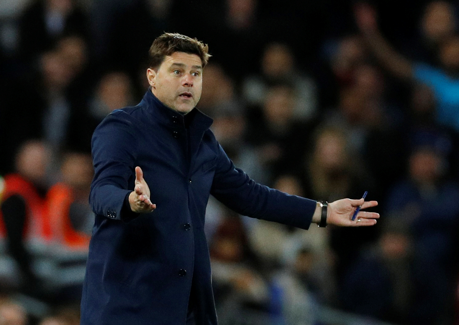 Poch admits Spurs are low on confidence