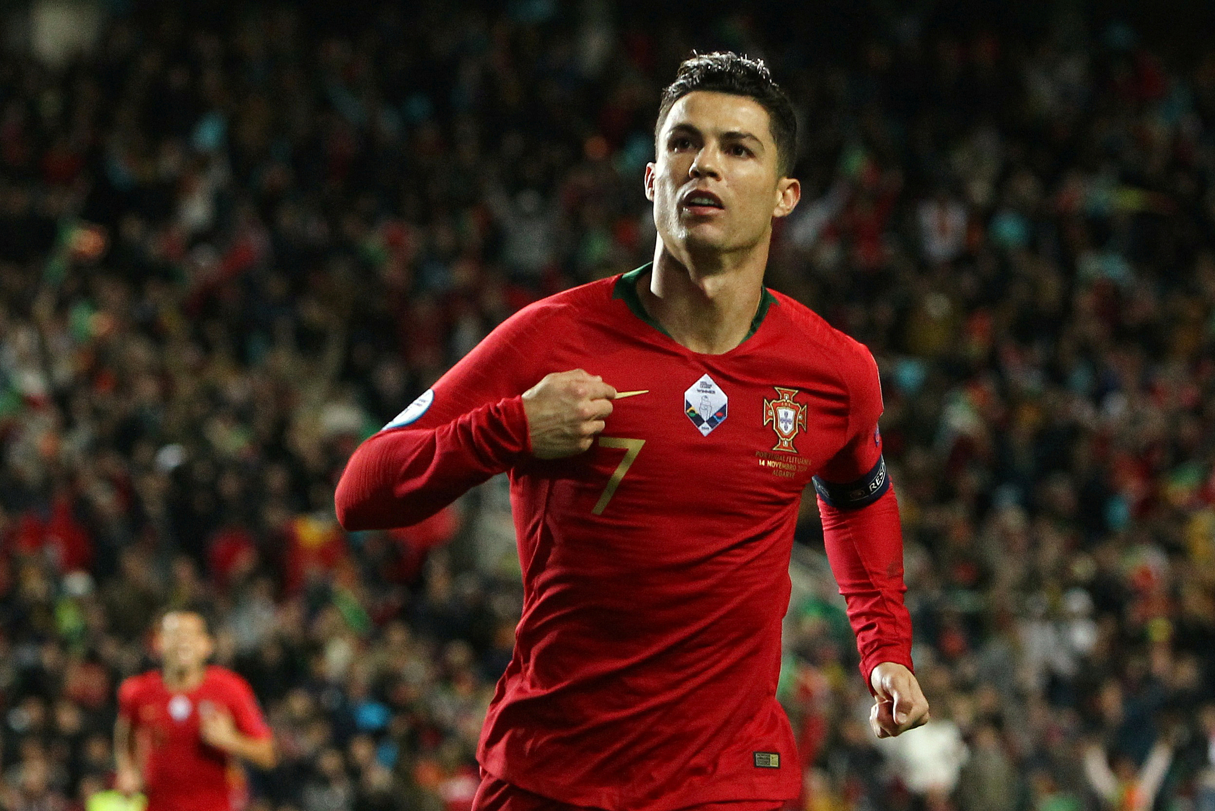 Portugal superstar Cristiano Ronaldo hits out at Luxembourg pitch