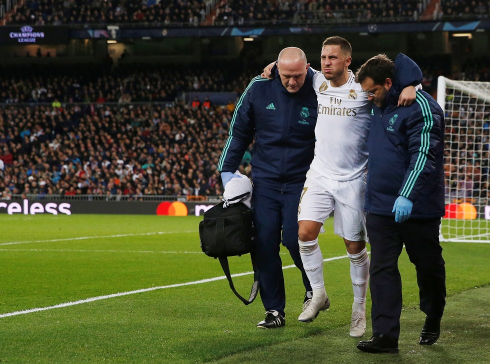 Real Madrid Relieved To Hear Eden Hazard Injury Update