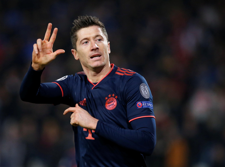 Robert Lewandowski equals Lionel Messi's Champions League record