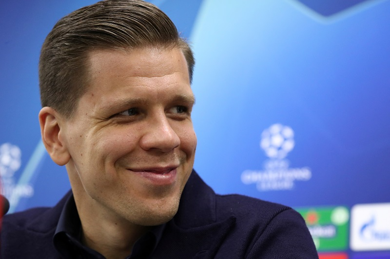 Szczesny living the weird dream of every footballer at Juventus!