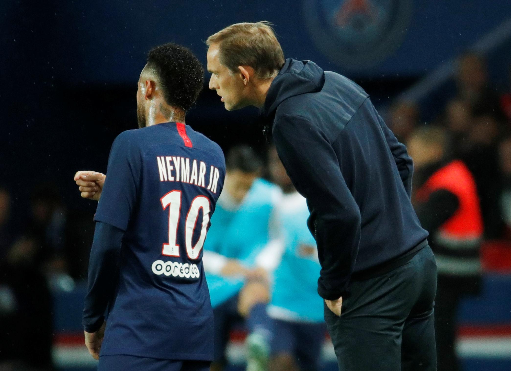 Thomas Tuchel not afraid of losing Neymar after benching him in Madrid