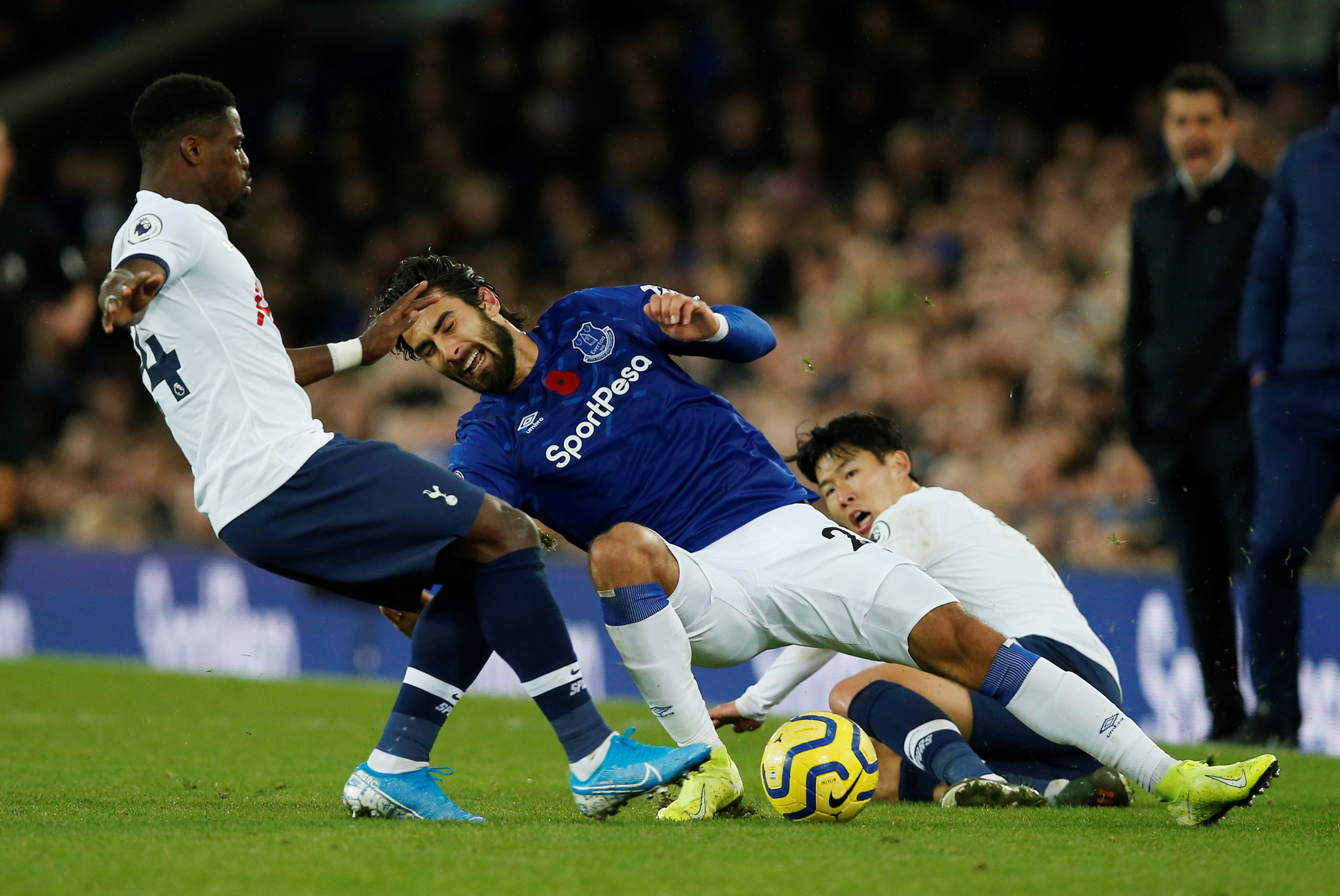 Tottenham could appeal Son's red card in dramatic 1-1 draw against Everton