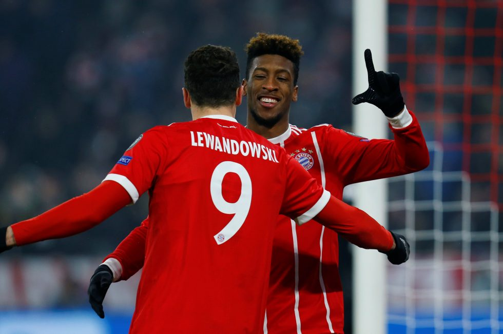 Bayern Munich winger Kingsley Coman suffers no serious knee damage