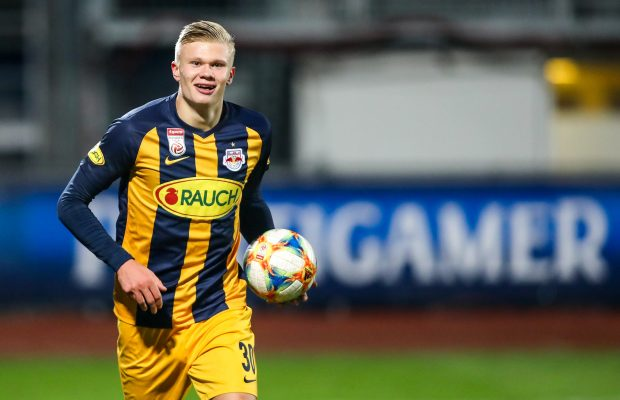 Borussia Dortmund beat Manchester United to Erling Haaland signing