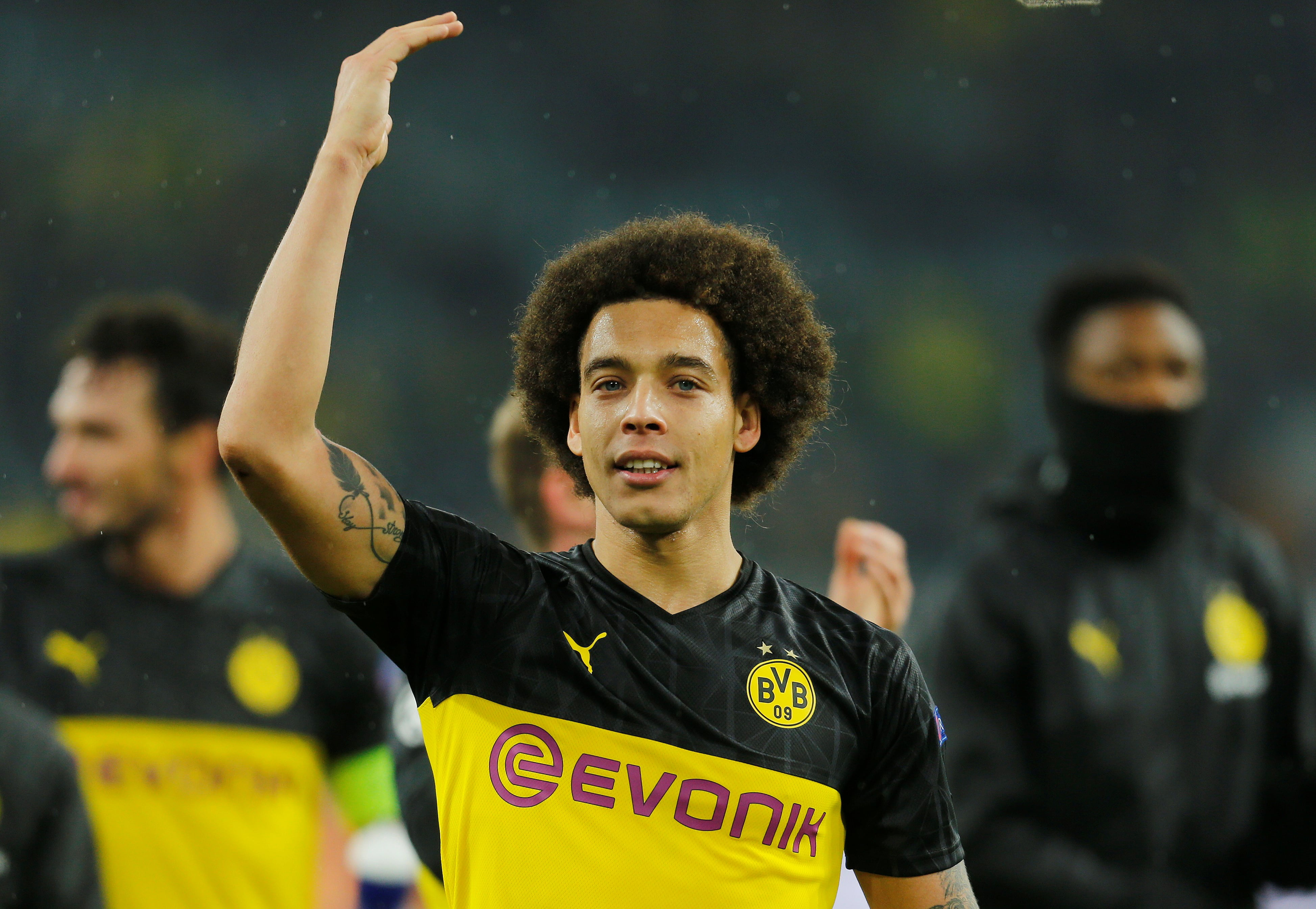 Borussia Dortmund's Axel Witsel ruled out for rest of year-min